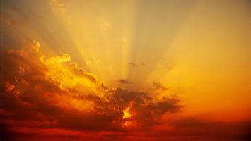 Бесплатные фото небо,облака,тучи,солнце,лучи,свет,лето
