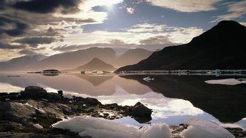 Фото бесплатно облака, вода, море