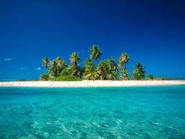 Бесплатные фото остров, пальмы, море, вода, песок, красиво, природа