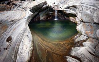 Фото бесплатно пещера, под водой, морская