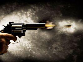 Фото бесплатно пистолет, револьвер, выстрел