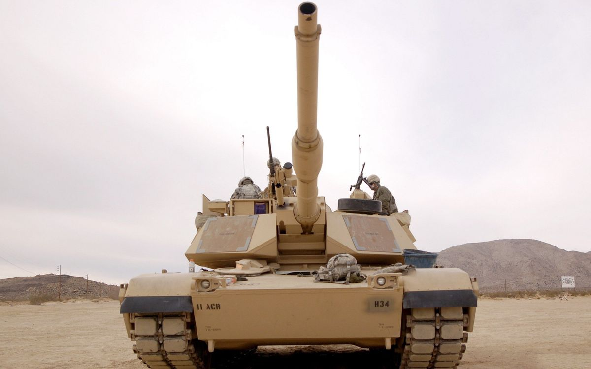 Фото бесплатно танк, солдаты, экипаж - на рабочий стол