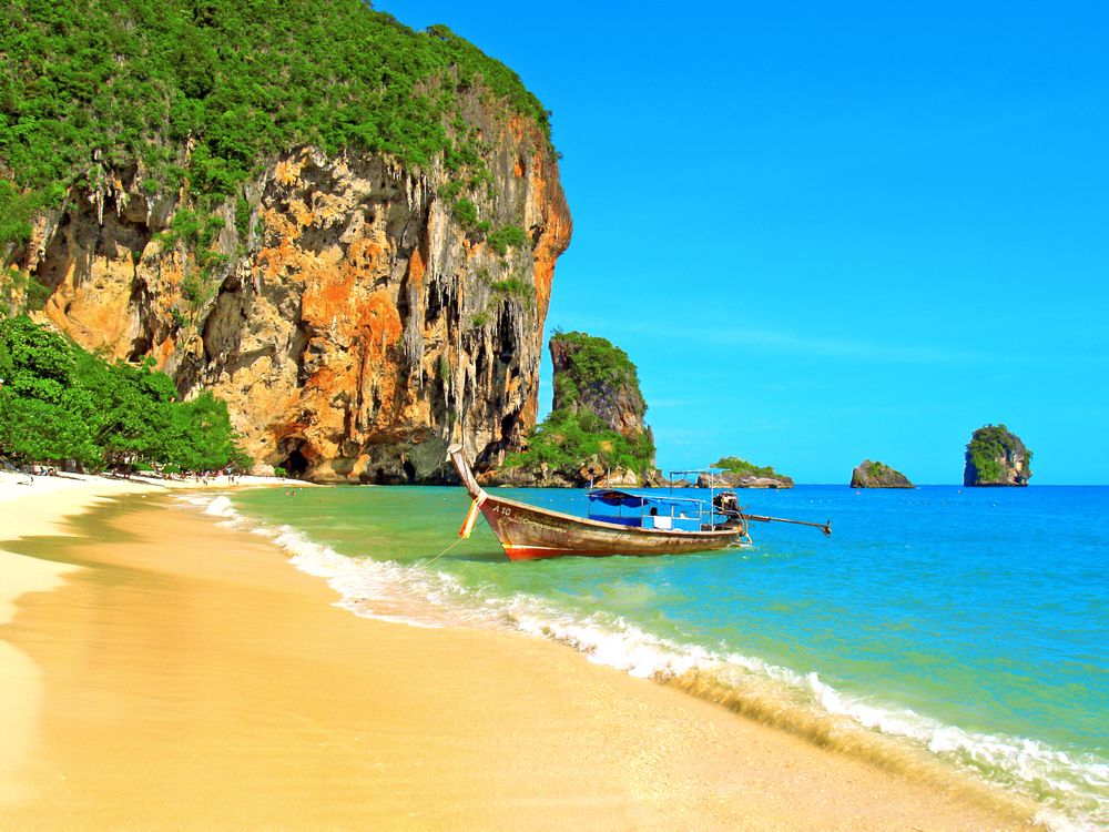 Photos for free thailand, landscapes, boat - to the desktop