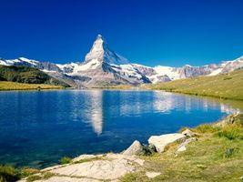Фото бесплатно вода, чистая, горы