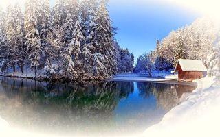 Бесплатные фото зима,снег,озеро,пейзажи