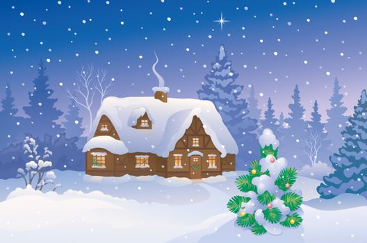 Заставки дым, Рождественская звезда, рисунок