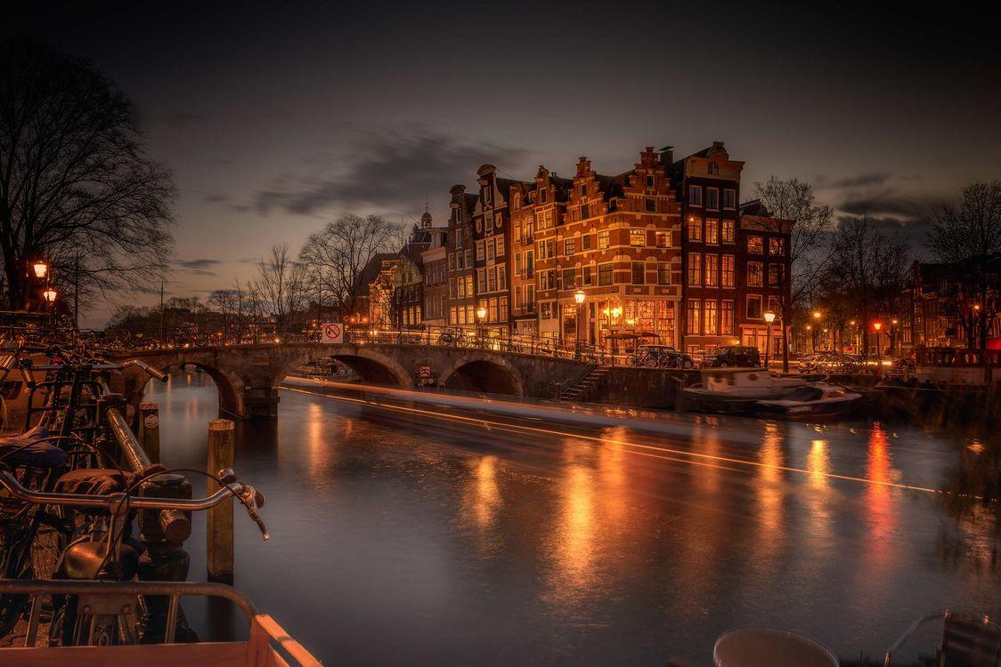 Фото бесплатно Amsterdam, Голландия, Амстердам, Нидерланды, город