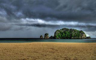 Фото бесплатно берег, горизонт, остров