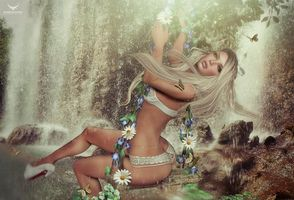 Бесплатные фото фантастическая девушка, девушки, фэнтези, креатив, фантастика, причёска, одежда