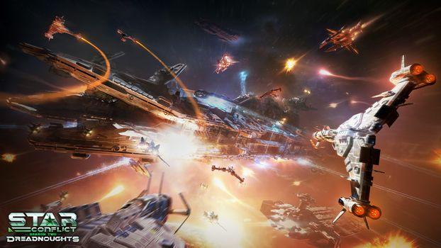 Фото бесплатно Star Conflict, онлайн игра, action, MMO SPACE ACTION, космос, Gaijin Entertainment, MMO