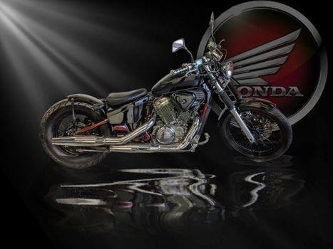Бесплатные фото Honda,мотоцикл,хонда