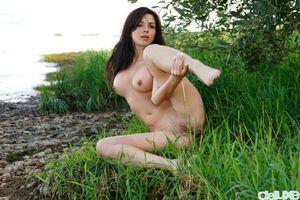 Обои Karina, Katarine, Kayla, Adel A, модель, эротика, красотка, девушка, голая, голая девушка, обнаженная девушка, позы