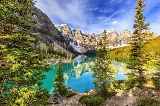 Фото онлайн бесплатно альберта, национальный парк банф