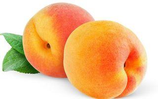 Бесплатные фото фрукты,персики,спелые,листья,зеленые,фон белый