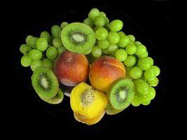 Бесплатные фото еда,фрукты,виноград,персики,киви