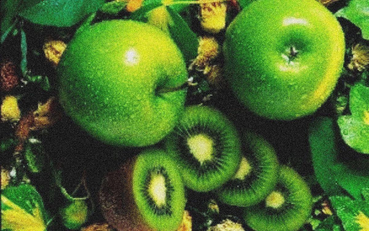 Фото бесплатно ломтики, фрукты, киви - на рабочий стол