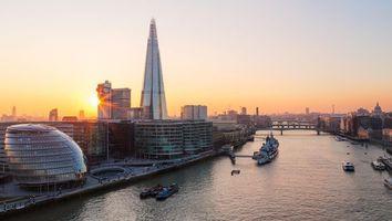Фото бесплатно River Thames, London, Великобритания