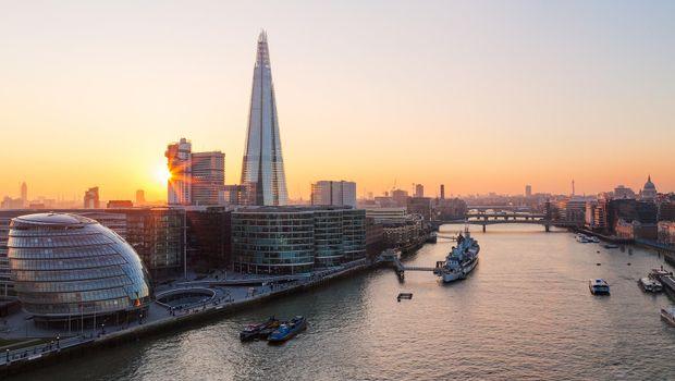 Заставки River Thames, London, Великобритания