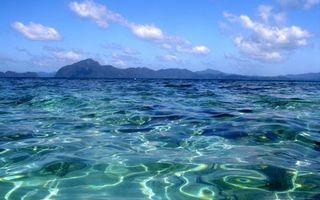 Бесплатные фото море,вода,суша,горы,небо,облака