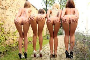 Бесплатные фото Abby,Maria,Lola,Tess,девушки,модели,эротика