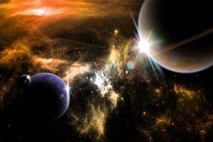 Фото бесплатно созвездия, планеты, вакуум