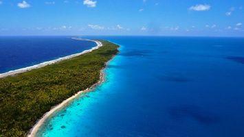 Бесплатные фото небо,океан,песок,зелень