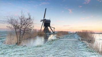 Фото бесплатно Нидерланды, Alblasserwaard, Kinderdijk