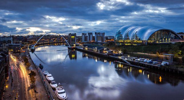 Photo free Newcastle-upon-Tyne, England, city