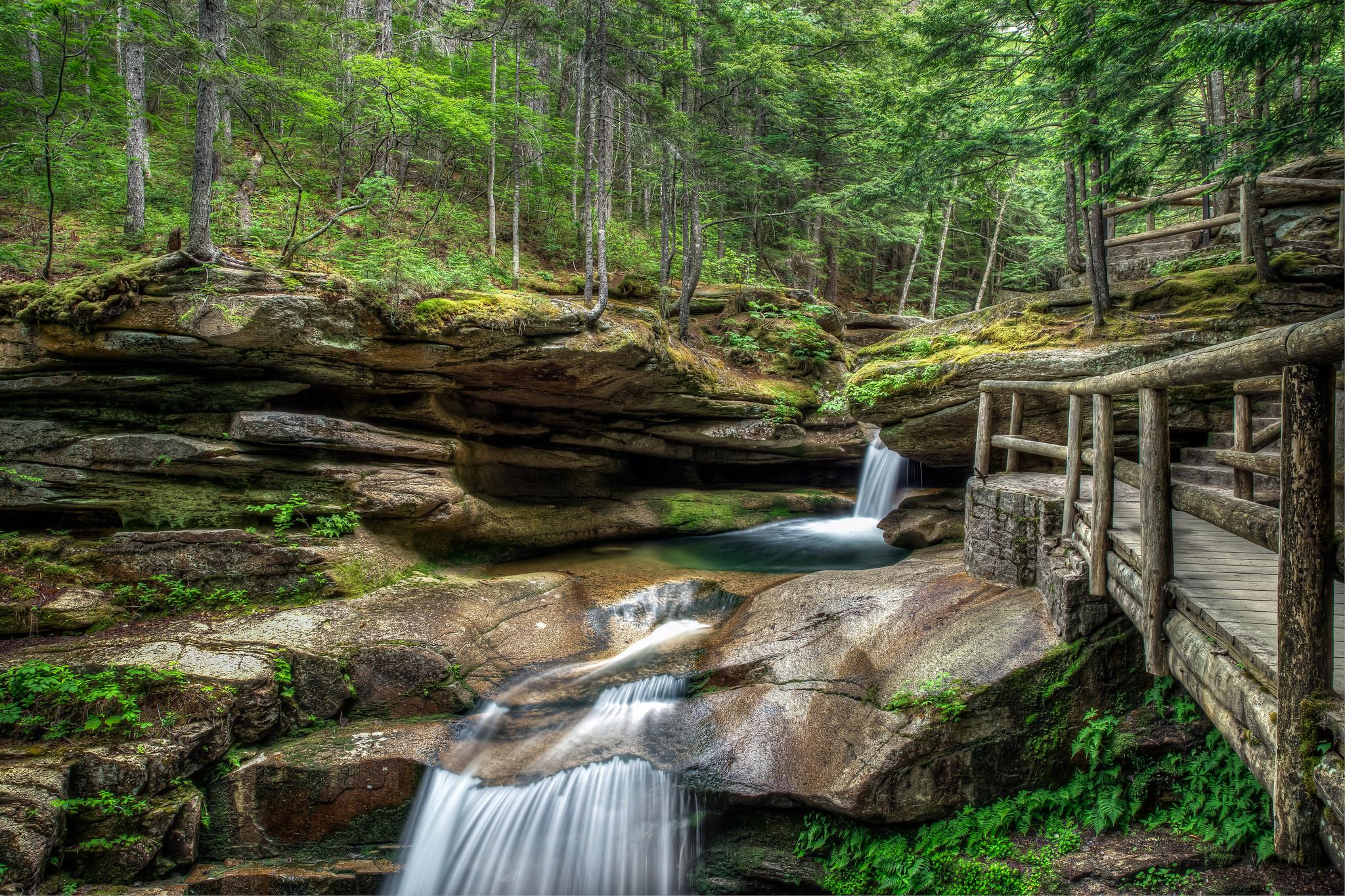 Нью-Гемпшир, Национальный заповедник, Новая Англия