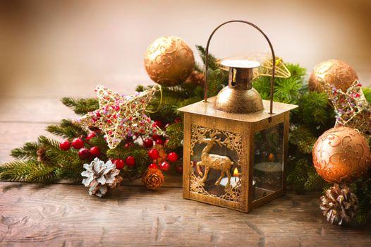 Фото бесплатно фон, Новый год обои, фонарь