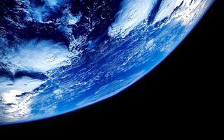 Обои планета, земля, орбита, невесомость, вакуум, фото