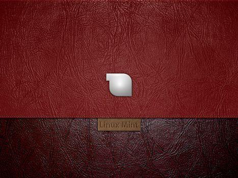 Заставки linux mint, кожа, прямая