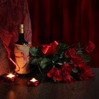 Фото бесплатно Романтика, День святого Валентина, вино