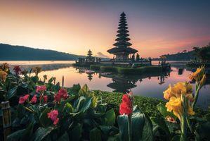 Заставки канна, храм, Бали
