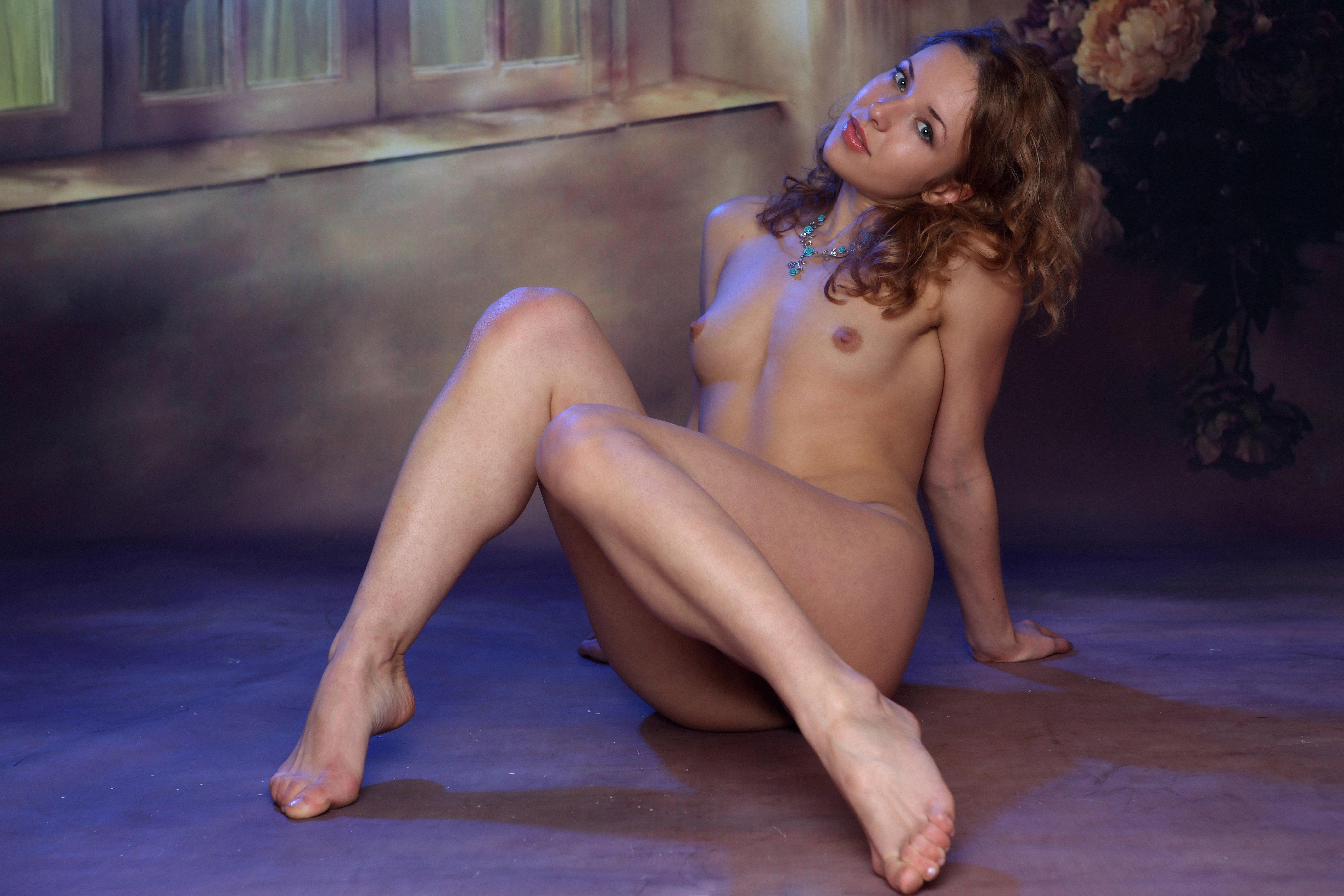 обои Agnete A, красотка, голая, голая девушка картинки фото