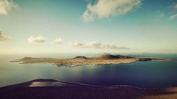 Бесплатные фото берег,море,остров,горизонт,небо,облака