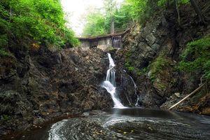 Фото бесплатно minnehaha falls, thayer dam, kinsmen park