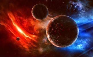 Заставка вселенная, планеты скачать бесплатно