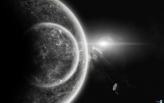 Бесплатные фото планета,спутник,поиск жизни,молодое солнце,новая галактика,иследования,космос,фантастика