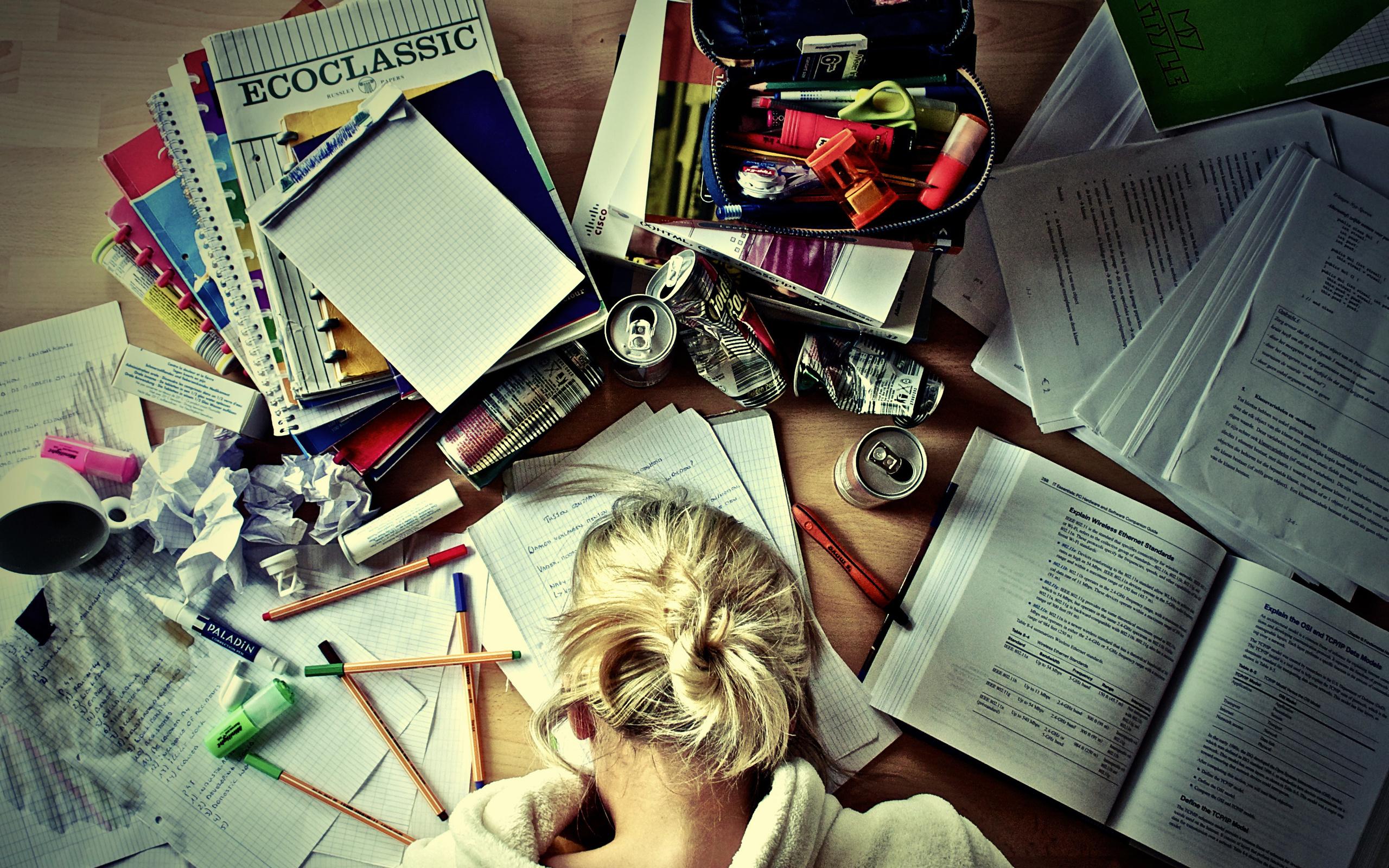 учеба работа девушка