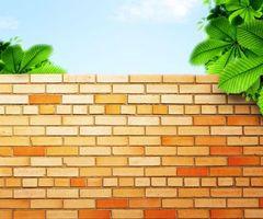Фото бесплатно рендеринг, кирпич, стена