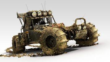 Бесплатные фото багги,внедорожник,вездеход,колеса,протектор,грязь,машины