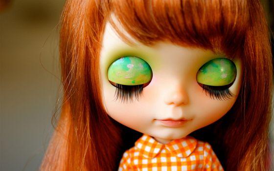 Photo free doll, eyes, eyelids
