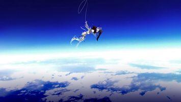 Фото бесплатно небо, облака, планета