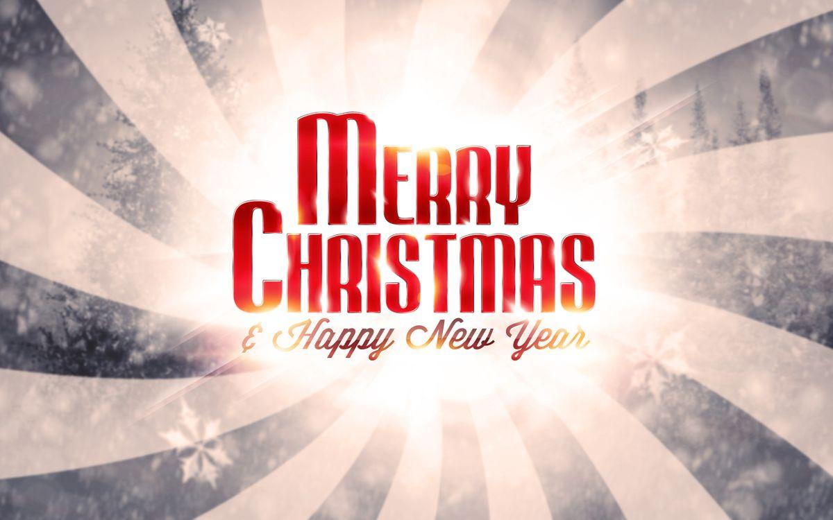 Фото бесплатно поздравление, надпись, слова, заставка, обои, картинка, снежинки, линии, новый год, настроения, праздники, праздники