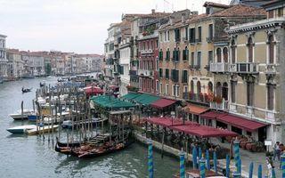 Фото бесплатно венеция, улица, дома