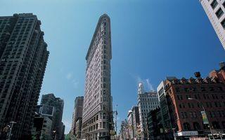 Заставки нью-йорк, здания, небоскребы