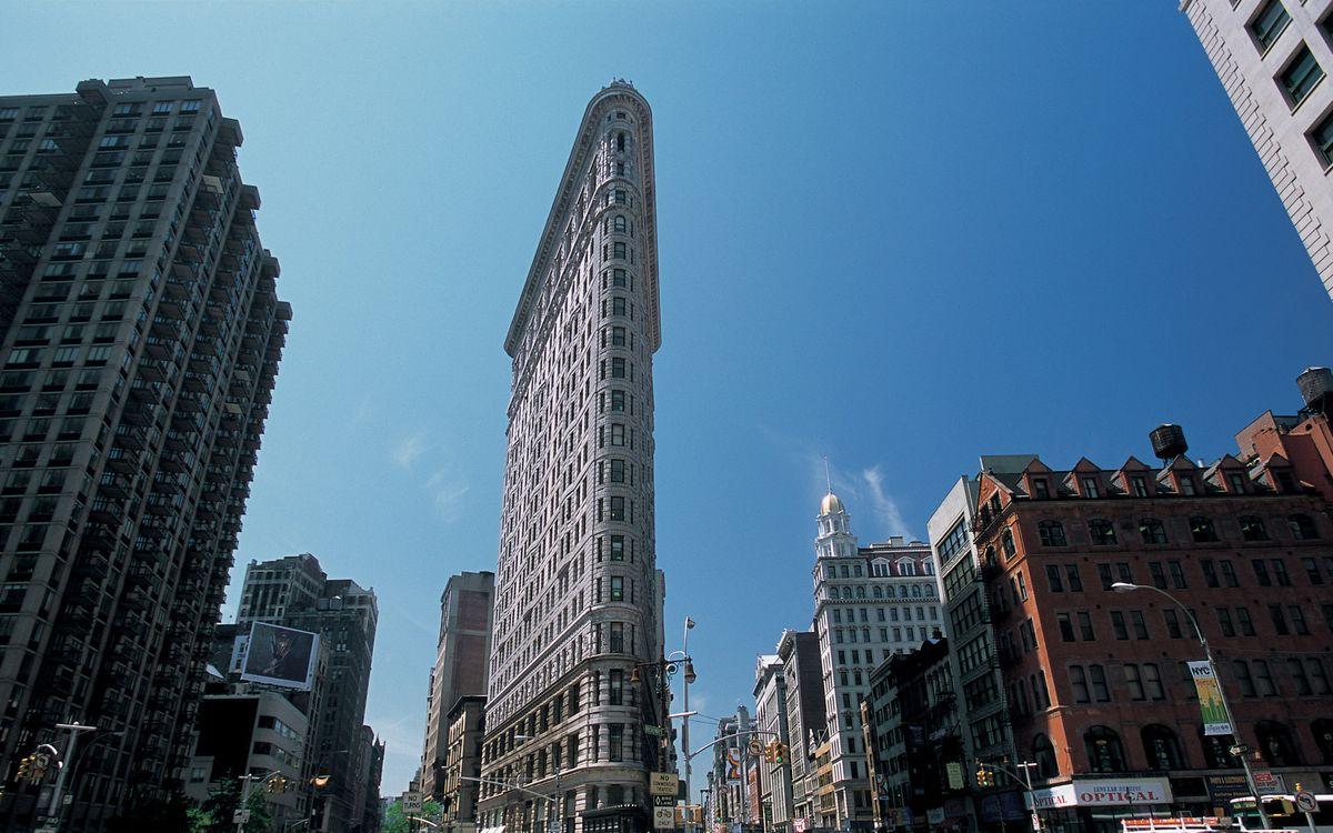 Фото бесплатно нью-йорк, здания, небоскребы - на рабочий стол