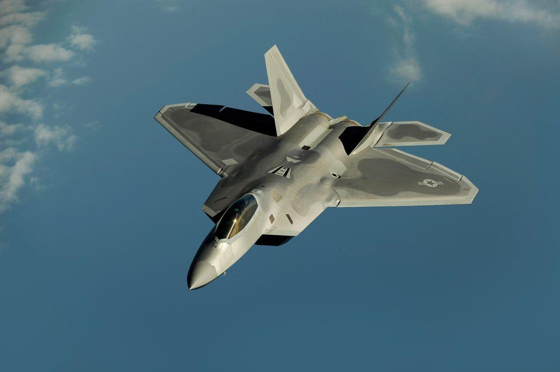 Фото бесплатно літак, ф, раптор, небо, самолет, винищувач, авиация, оружие, оружие