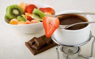 Бесплатные фото фрукты,еда,киви,мандарин,клубника,шоколад,кофе